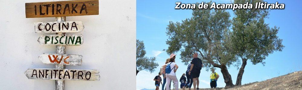 Visita Zona de Acampada Iltiraka